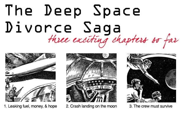 The Deep Space Divorce Saga
