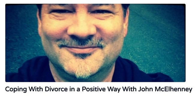 Dealing with divorce in a positive way