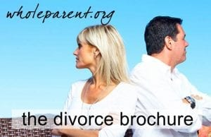 The Divorce Brochure for Dads: How Does This Sound to You?