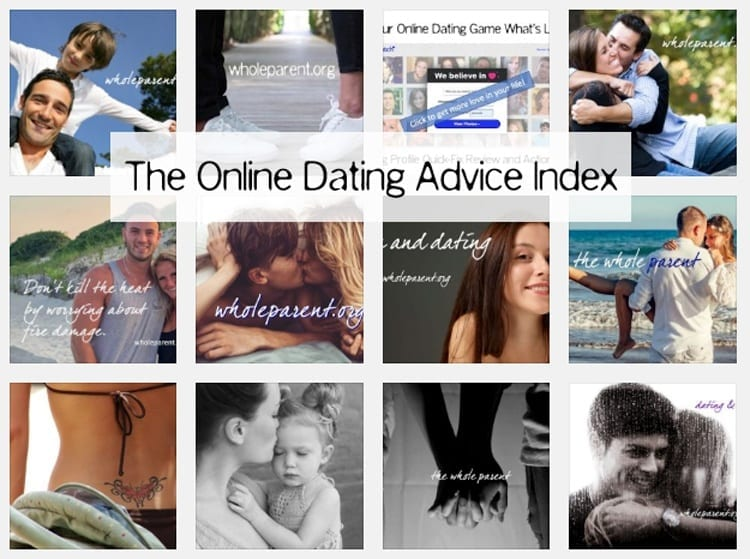 The Online Dating Advice Index: Get Over Yourself