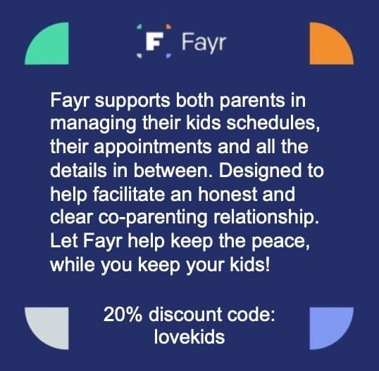 fayr - the co-parenting app