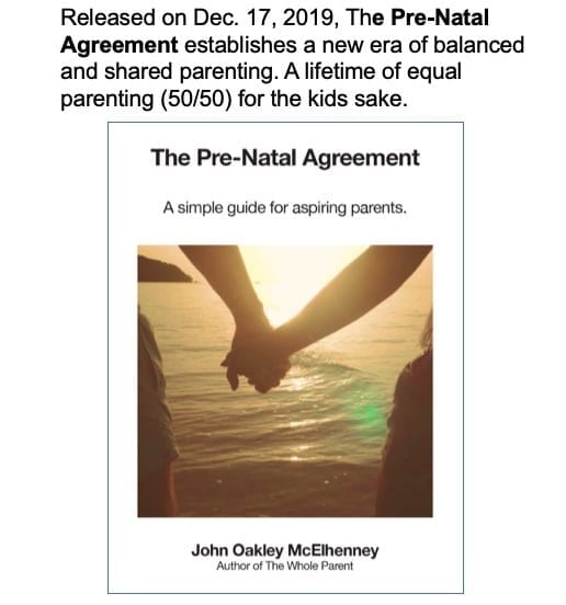 Pre-Natal Agreement Release Announcement, Dec. 17, 2019