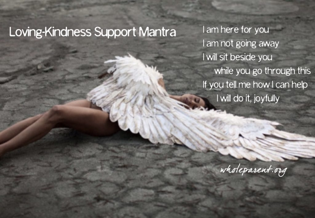 loving-kindness support mantra
